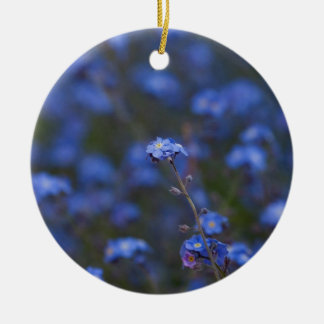 Forget-Me-Nots Christmas Tree Ornament