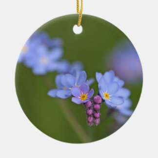Forget Me Nots Christmas Tree Ornaments