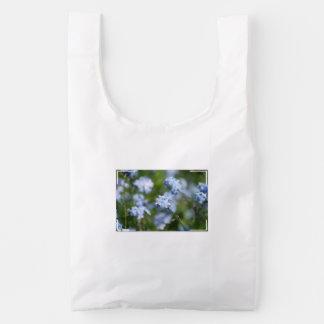 Forget Me Nots Reusable Bag