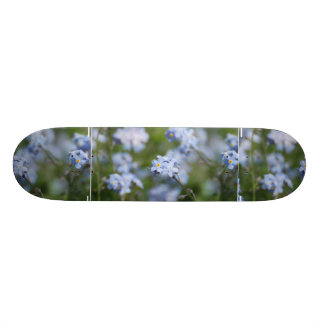 Forget Me Nots Skate Board
