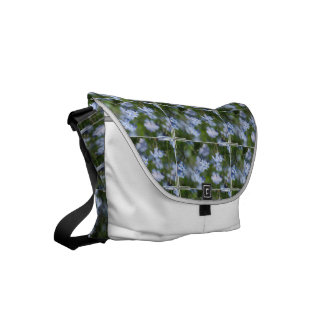 Forget Me Nots Small Messenger Bag