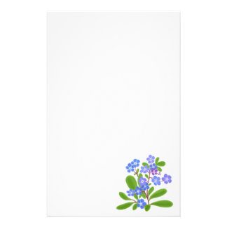 Forget Me Nots Stationery