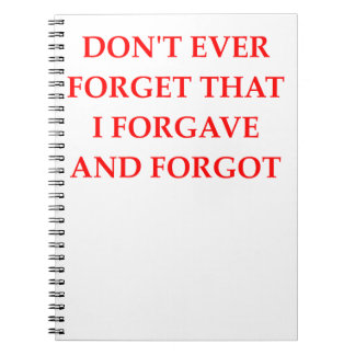 FORGET NOTEBOOK