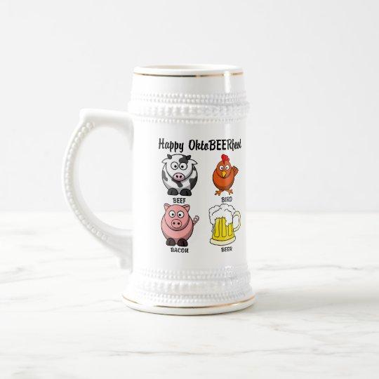 Forget Oktoberfest, Celebrate Oktobeerfest 1 Beer Stein