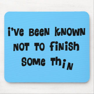 Forget People Funny Gifts Mouse Pad