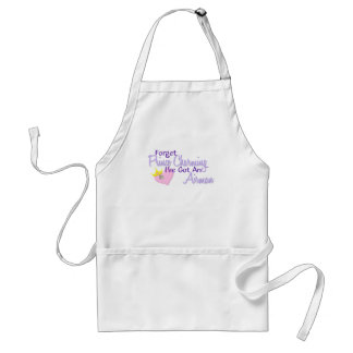 Forget Prince Charming - Airman Adult Apron