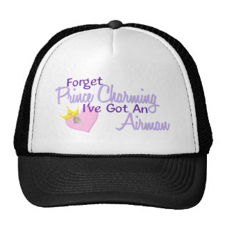 Forget Prince Charming - Airman Trucker Hat