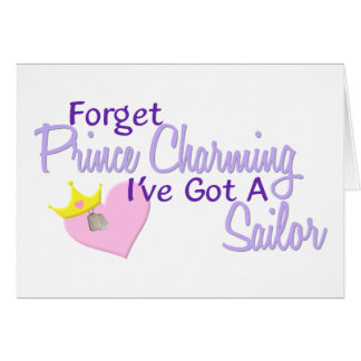 Forget Prince Charming - Sailor Card