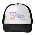 Forget Prince Charming - Seabee Trucker Hat