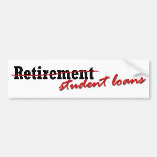 Forget Retirement Bumper Sticker Car Bumper Sticker