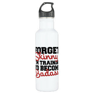 Forget skinny water bottle
