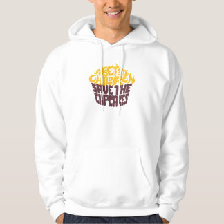 Forget the Children - Gold+Chocolate Hooded Pullover