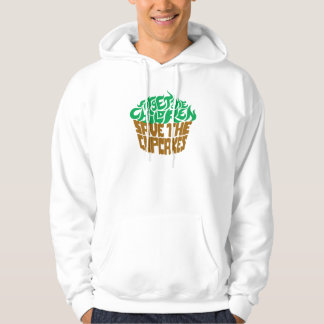 Forget the Children - Green+Chocolate Hoodie