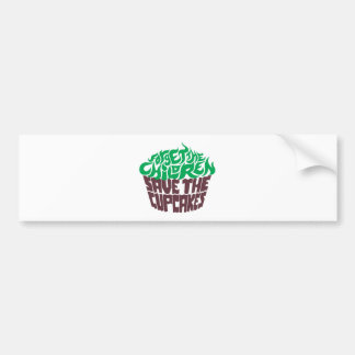 Forget the Children - Green+Dark Chocolate Bumper Sticker