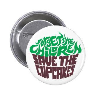 Forget the Children - Green+Dark Chocolate Pin