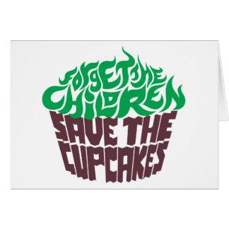 Forget the Children - Green+Dark Chocolate Card