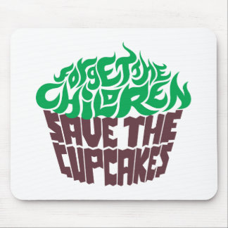 Forget the Children - Green+Dark Chocolate Mouse Pad