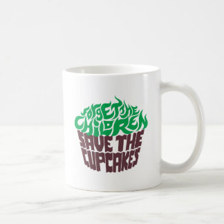 Forget the Children - Green+Dark Chocolate Coffee Mugs