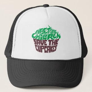 Forget the Children - Green+Dark Chocolate Trucker Hat