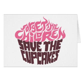 Forget the Children - Pink+Dark Chocolate Card