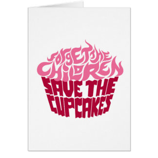 Forget the Children - Pink+Maroon Card