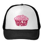 Forget the Children - Pink+Maroon Mesh Hat