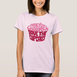 Forget the Children - Pink+Maroon T-Shirt