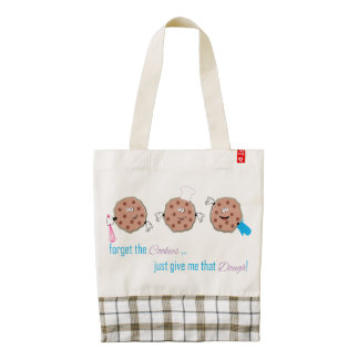 Forget the Cookies Zazzle HEART Tote Bag