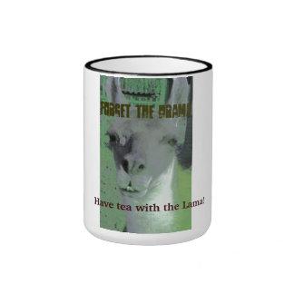 Forget the Drama - Have Tea With the Lama! Ringer Mug