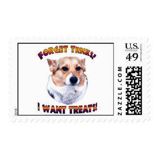 Forget Tricks! I WANT TREATS!-OC Postage Stamps