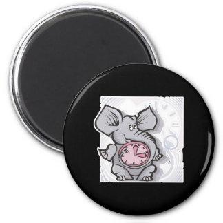 forgetful elephant fridge magnet