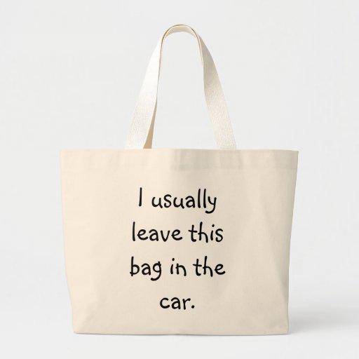 Forgetful Shopper 5 Canvas Bag