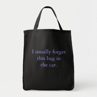 Forgetful Shopper Tote Bag