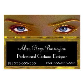 Forgette el profesional único de los ojos tarjetas de visita grandes