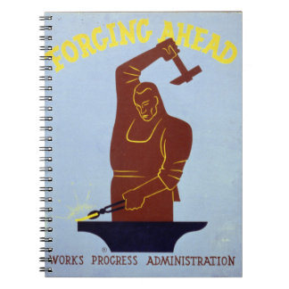 Forging Ahead Notebook