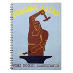 Forging Ahead Spiral Note Books