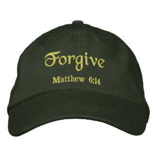 Forgive Agrainofmustardseed.com Embroidered Baseball Caps