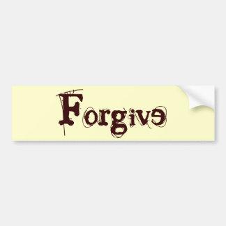 Forgive Bumper Sticker