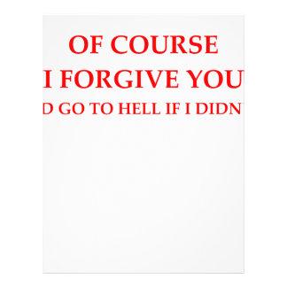 FORGIVE LETTERHEAD