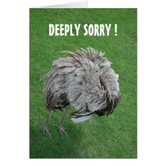 Forgive me! card