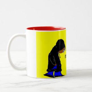 FORGIVE ME CUP!! Two-Tone COFFEE MUG