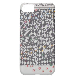 Forgive Me, Lord Doodle Art Products Case For iPhone 5C