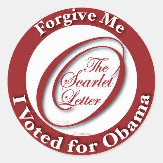 Forgive Me Stickers