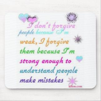 Forgive Mouse Pad