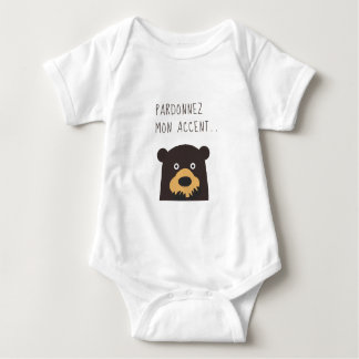 Forgive my accent baby bodysuit