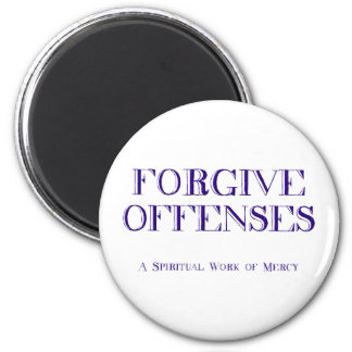 Forgive offenses magnet