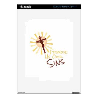 Forgive Our Sins iPad 3 Skin