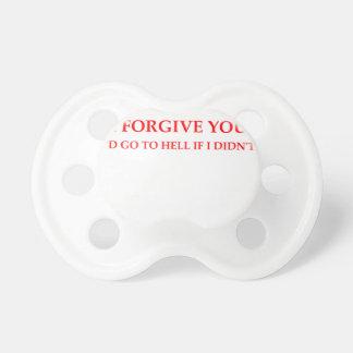 FORGIVE PACIFIER