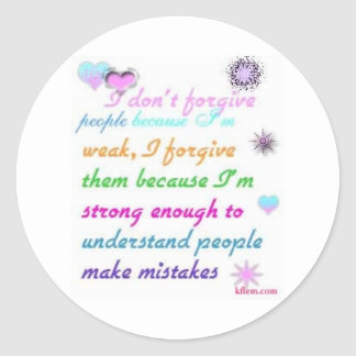 Forgive Stickers