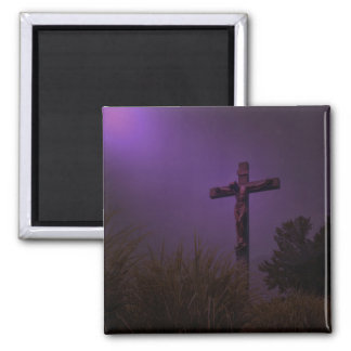Forgive Them 2 Inch Square Magnet